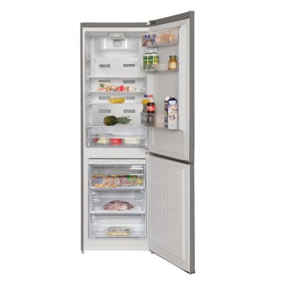 beko frigo cn232121t inox a 320lt h p l 185 3x60x59 5 total no frost porte reversibili. Black Bedroom Furniture Sets. Home Design Ideas